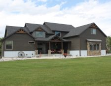 One of a kind home with creekside property